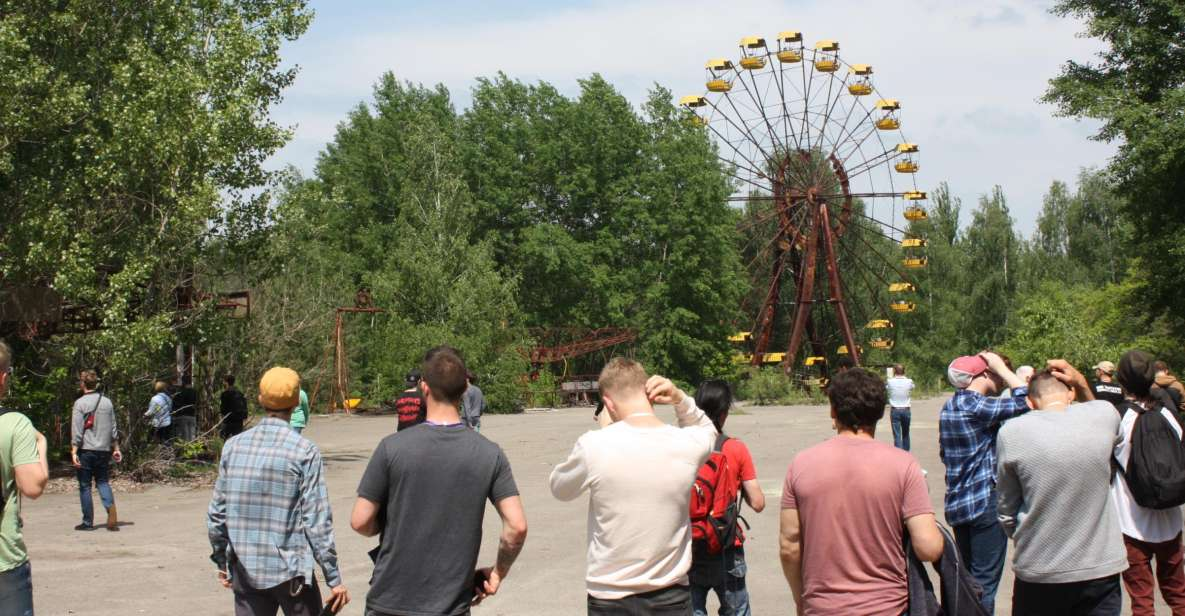 From Kiev: Day Trip to Chernobyl Exclusion Zone and Prypiat