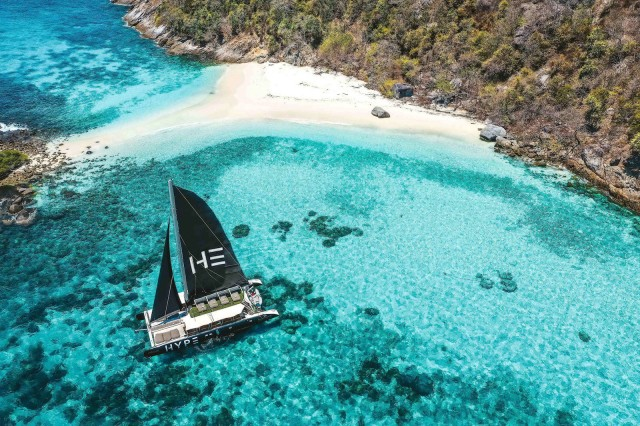 Phuket: Coral and Racha Islands Hype Luxury Catamaran