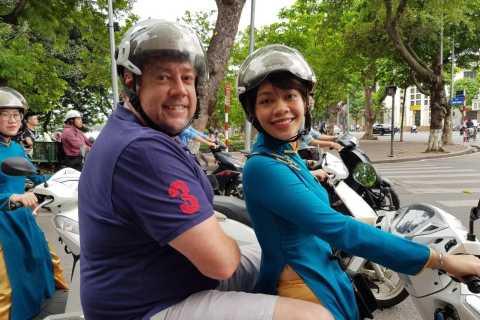 Hanoi: Night Lights and Street Food Motorbike Tour