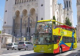 Wat te doen in Lyon - Lyon: hop on, hop off-sightseeingbustour
