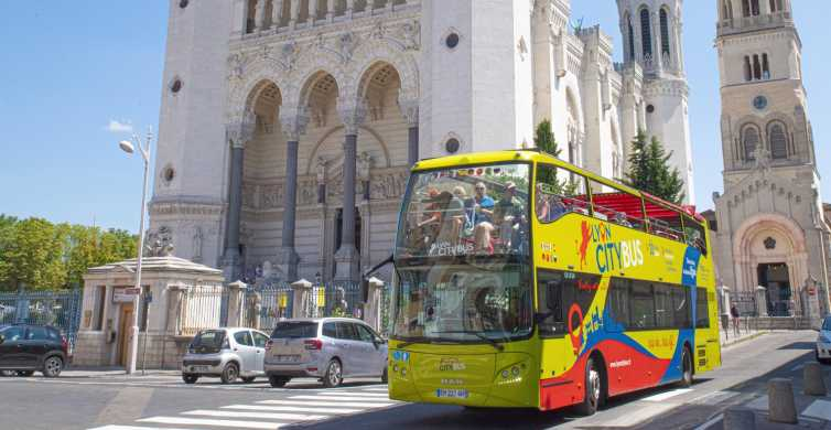 Lyon City Hop-on Hop-off Sightseeing Bus Tour
