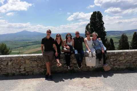 Toscana: tour del vino di un'intera giornata con degustazioni