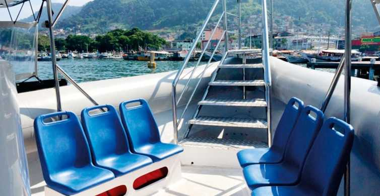 Shared Shuttle Transfer Paraty to Ilha Grande