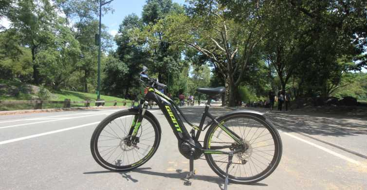 New York City: Electric Bike Rental at Central Park