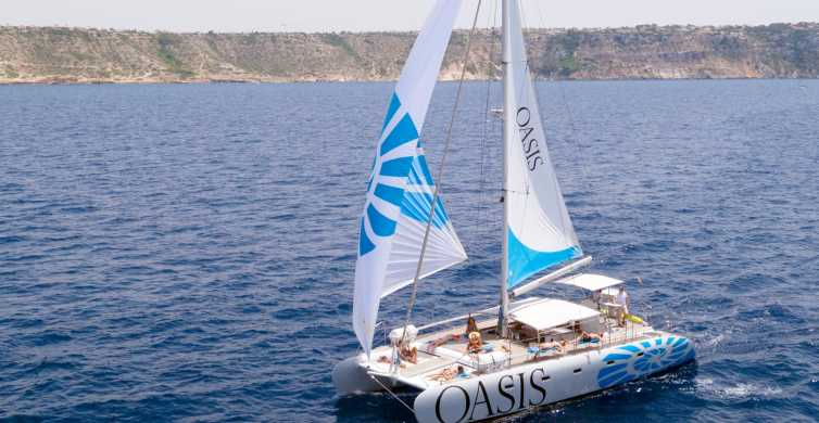 Palma de Mallorca: Catamaran Sailing Tour with Lunch