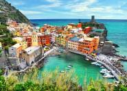 Ab La Spezia: Cinque Terre mit Limoncino-Verkostung
