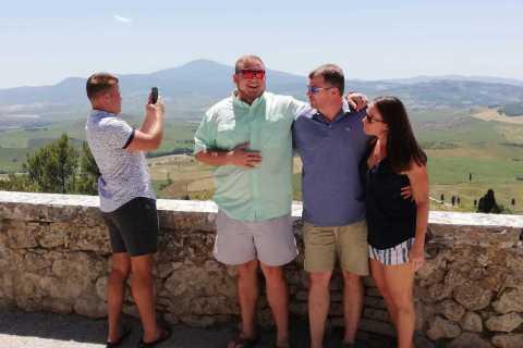 Da Firenze o Siena: Montepulciano Wine Tour con pranzo