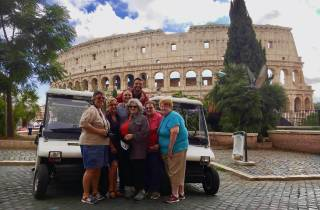 Rom: Private 4-stündige Tour mit dem Golf Cart