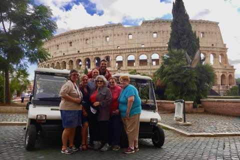 Excursão particular a Roma por carrinho de golfe: 4 horas de história e diversão