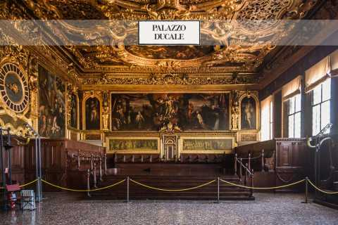 Venice Day Tour: Doge's Palace, Basilica, and Gondola Ride