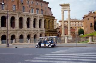 Rom: 6-stündige Stadtrundfahrt im Golfwagen