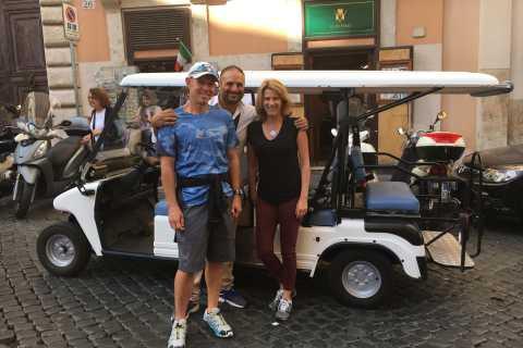 De Civitavecchia: excursão de carrinho de golfe em Roma