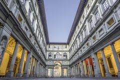 Galeria Uffizi: excursão para grupos pequenos