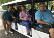 Rom: 2-stündige Sightseeing-Nachttour mit dem Golfwagen