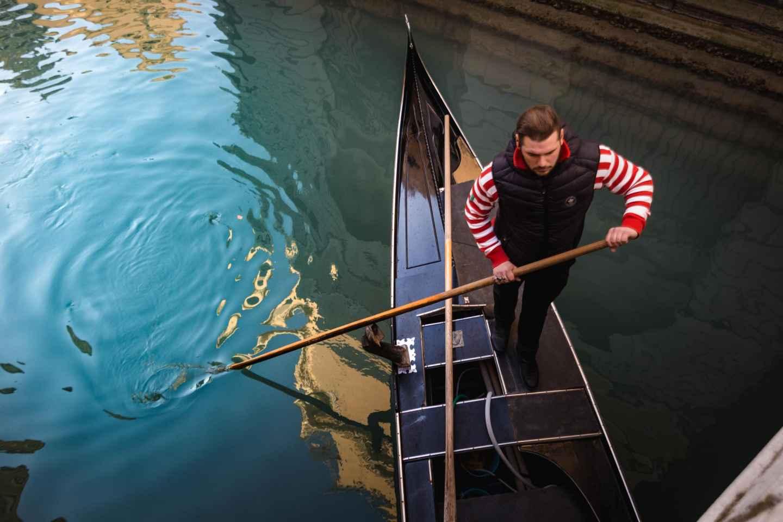 Venedig: Private Gondelfahrt auf dem Canale Grande