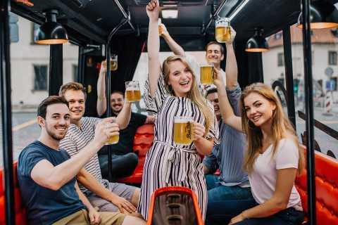 Prague: Party Beer Bus