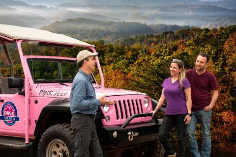 From Pigeon Forge: Foothills Parkway 3-Hour Jeep Tour