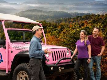 Vorgebirge Parkway Smoky Mountains 3-stündige Jeep-Tour