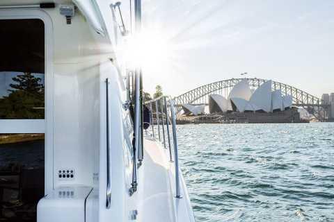Port de Sydney: croisière déjeuner de luxe progressive à plusieurs arrêts