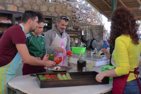 Messinia: Organic Cooking Class and Traditional Local Feast