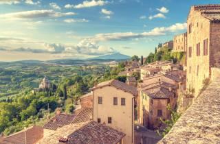 Toskana: 3-Städte-Tour mit Mittagessen und Weinprobe