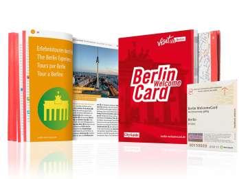 Berlin: WelcomeCard Innenstadt Reiseticket AB & Rabatte