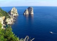 Von Sorrent: Ganztägige Gruppenreise nach Capri und Jeranto Bay