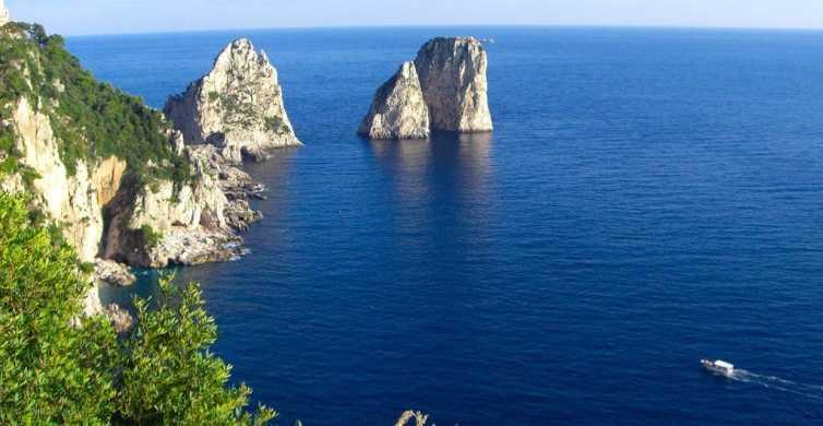 From Sorrento: Capri & Jeranto Bay Full-Day Group Tour