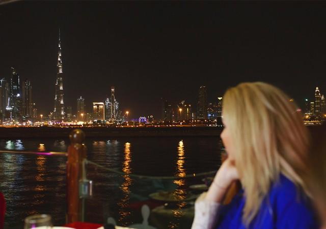 Dubai: luxe rondvaart met diner en met optionele transfers