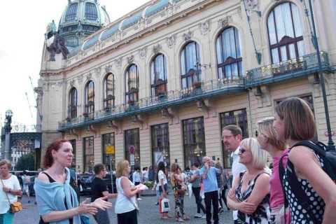 Prague Art Nouveau and Cubist Architecture 3-Hour Tour