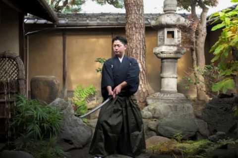 Kyoto: 2-hour Authentic Samurai Experience