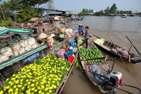 Ho Chi Minh City: Mekong Delta Cruise and Traditional Lunch