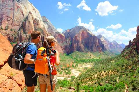 From Vegas: Zion National Park Luxury Bus Tour with Lunch