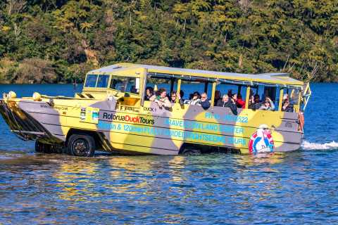 Rotorua City and Lakes Duck Tour