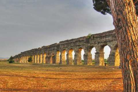 Rome: Catacombs, Appian Way & Aqueduct Park Small Group Tour