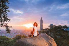 Caminhada na montanha de elefantes: o ponto mais instável do mundo de Taipei