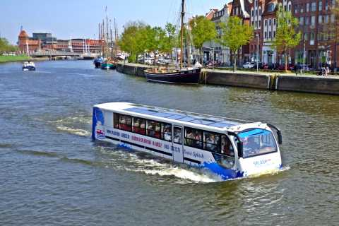 Lübeck: 1-Hour Splash Bus City Tour