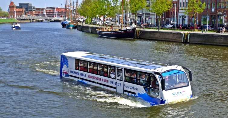 Lübeck: 1-Hour Splash Bus City Tour