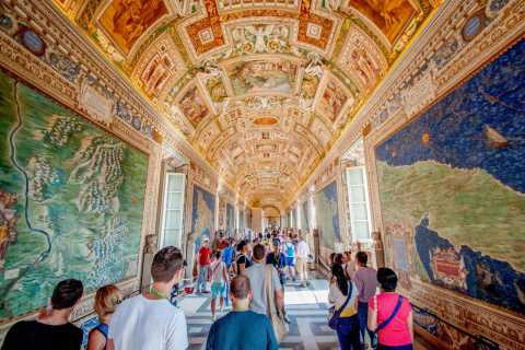 Roma: tour guidato di Musei Vaticani e Cappella Sistina