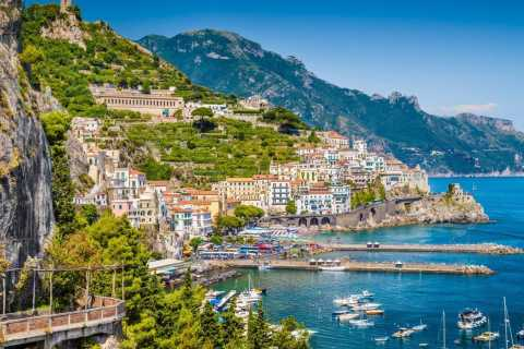 From Sorrento: Amalfi and Positano Full-Day Shared Boat Tour