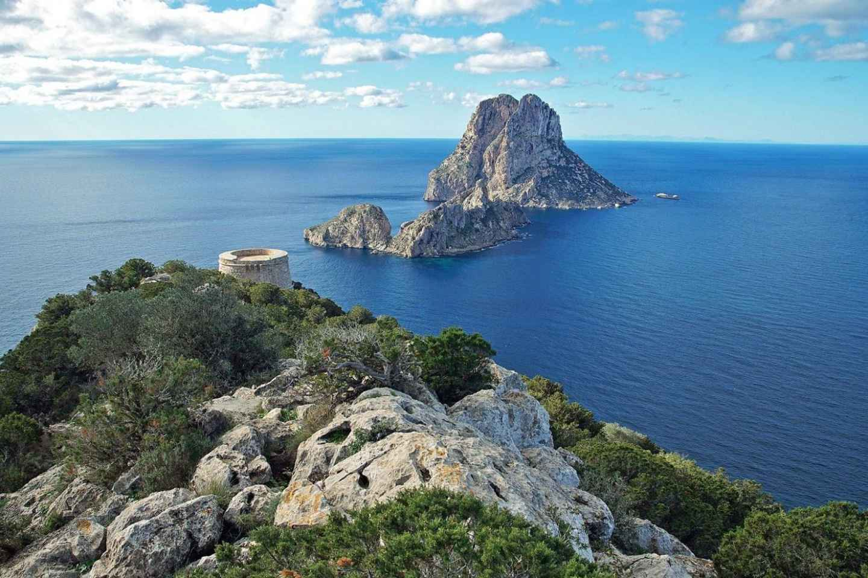 Ibiza: 4-stündige Bootsfahrt zur Insel Es Vedrá