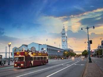 San Francisco: Panoramatour bei Nacht