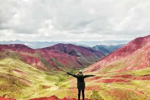 Cuzco: senderismo por la montaña Arcoíris y el valle Rojo