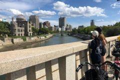 Hiroshima: passeio de bicicleta com guia local