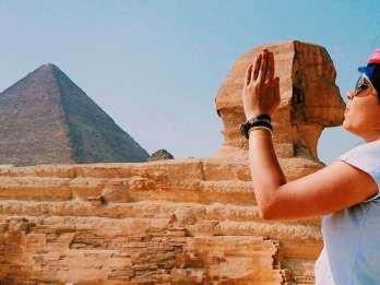 Ab Hurghada: Tagestour nach Kairo - Flug & Führung