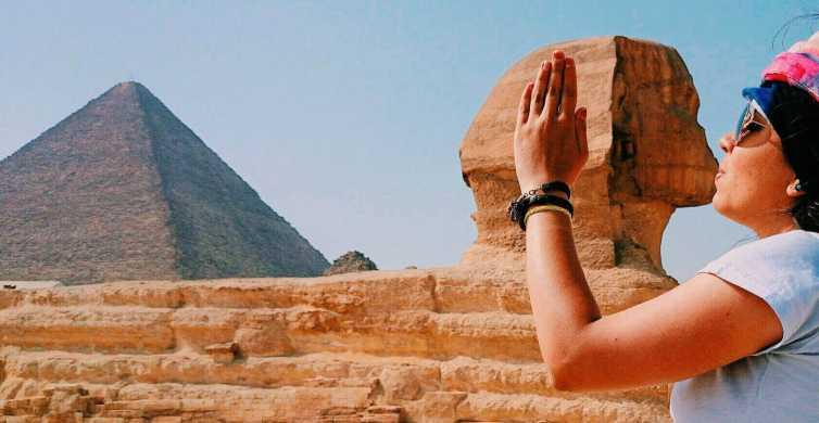 Depuis Hurghada: excursion au Caire en avion, visite guidée