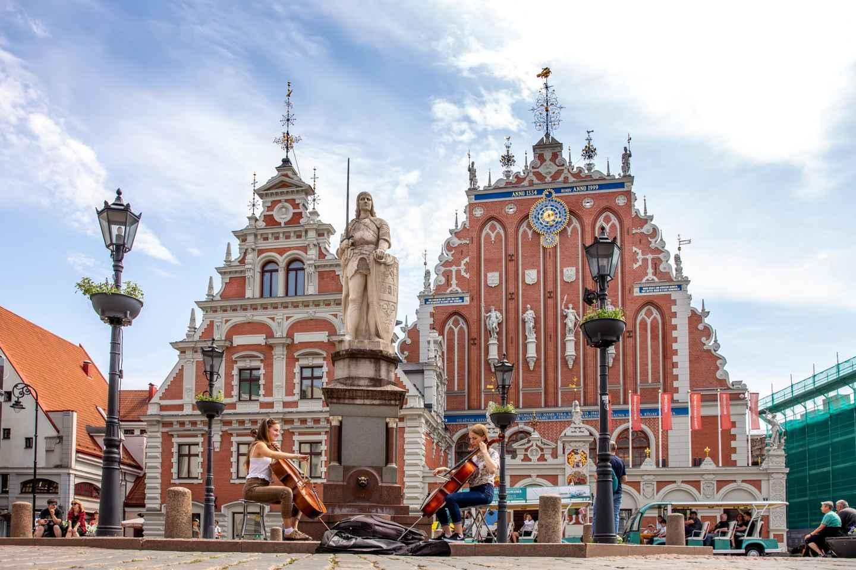 Schwarzhäupterhaus in Riga: Eintrittskarte