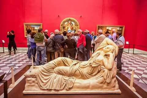 Firenze: Galleria degli Uffizi con ingresso programmato