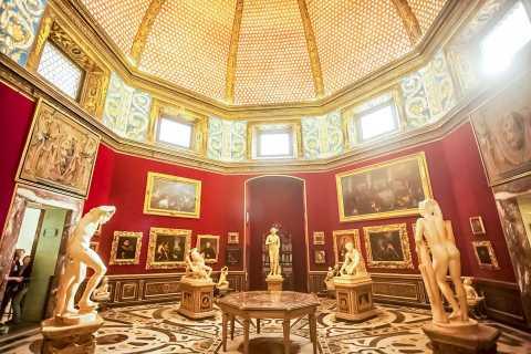 Florence: Getimede toegang tot Galleria degli Uffizi