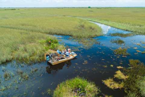 Miami: Everglades 4-Hour Private Airboat Tour with Pickup
